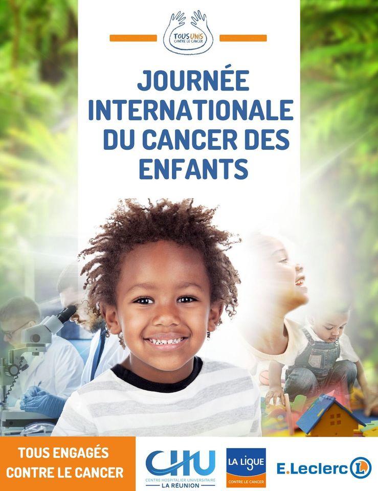 Le 15 février, Journée internationale du cancer des enfants, est l'occasion pour le comité Réunion de la Ligue contre le cancer, le CHU de La Réunion et E.Leclerc Réunion de rappeler le combat menées par les 3 entités contre la maladie par le biais de l'opération « Tous unis contre le cancer »